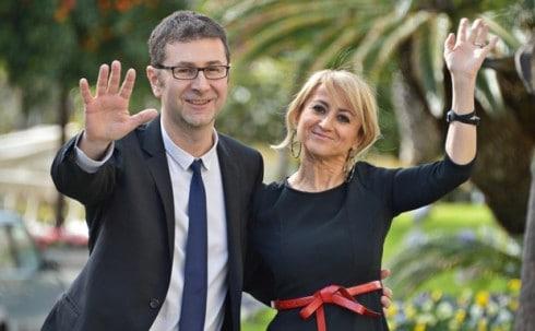 Sanermo 2014: Fabio Fazio y Luciana Littizzetto