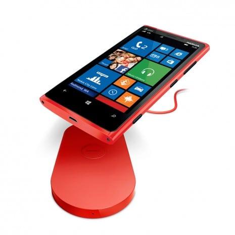 Nokia Lumia 920 y carga inalámbrica