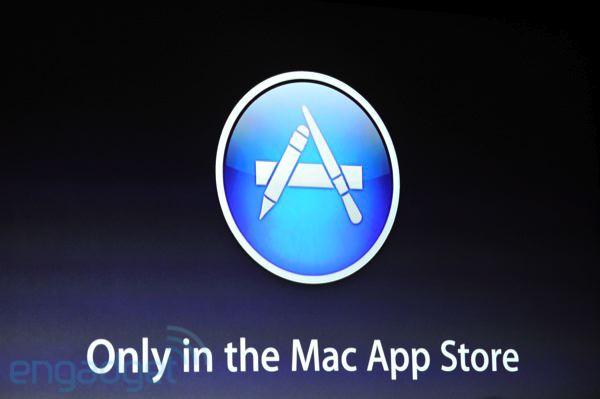 Mac OS X Lion solo está disponible en Mac App Store