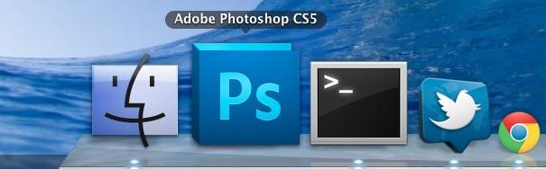 Photoshop en Mac OS X.