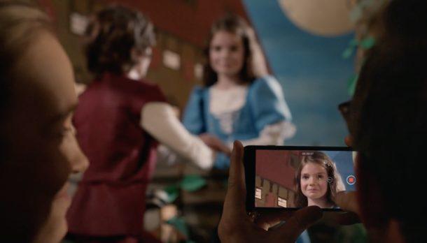 Anuncio para iPhone 7 Romeo y Julieta