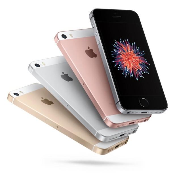 Colores del iPhone SE