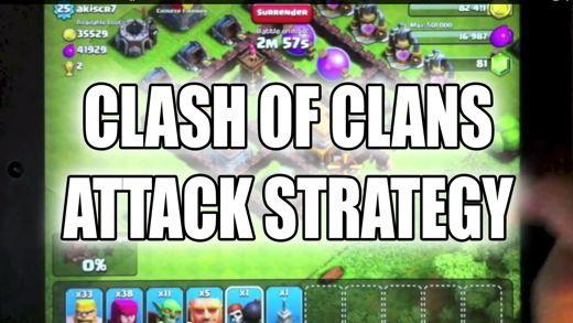 Estrategia de ataque de Clash of Clans