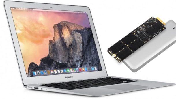 Cómo reemplazar el SSD de MacBook Air