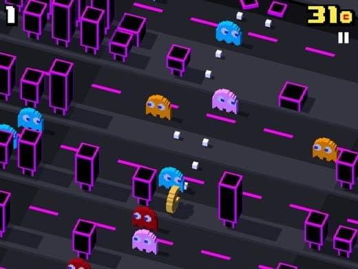 PacMan Crossy Road
