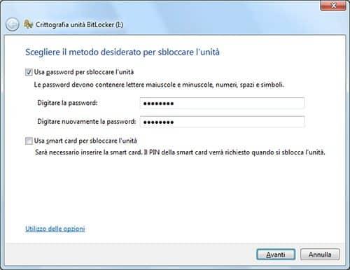 ingrese la contraseña de BitLocker