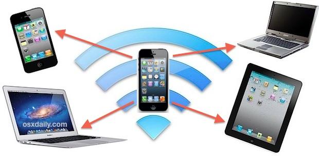 Punto de acceso personal para iPhone