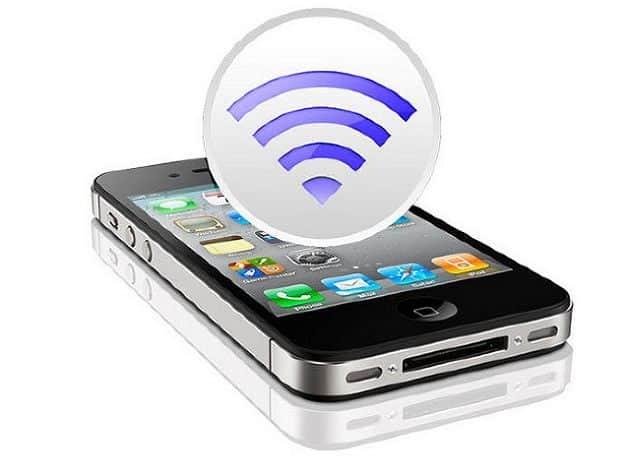 iPhone como enrutador o módem wi-fi
