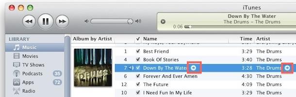 deshabilitar las flechas de iTunes