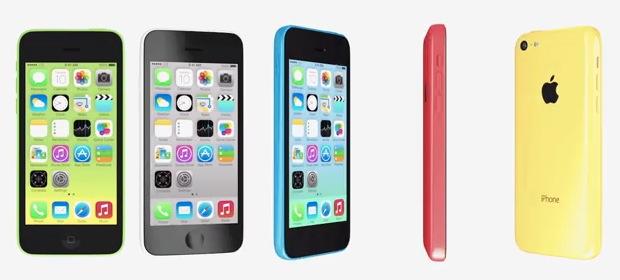 Canción y comerciales de TV del iPhone 5C