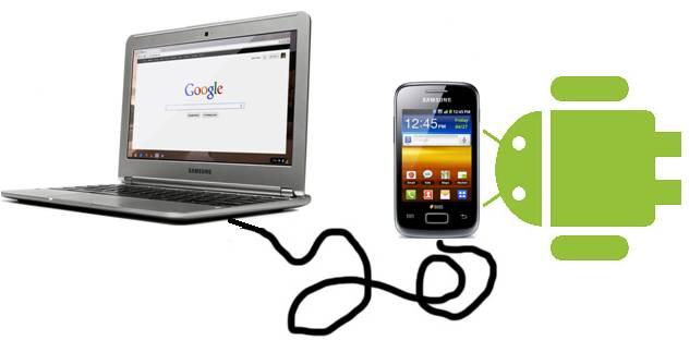 Smartphone Android no reconocido por la PC