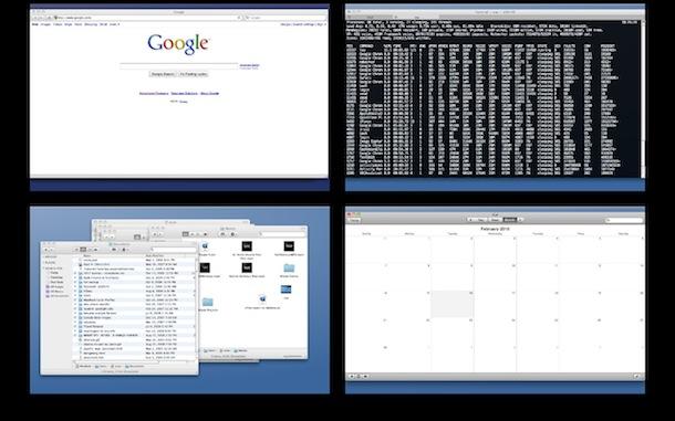 espacios de escritorio virtual para Mac