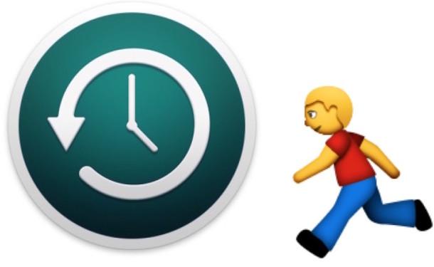 Arreglar una copia de seguridad lenta de Time Machine