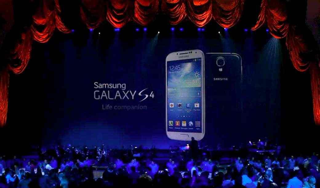Presentación Galaxy S4