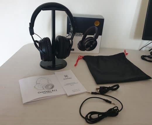 Revisión de los auriculares OneOdio A11